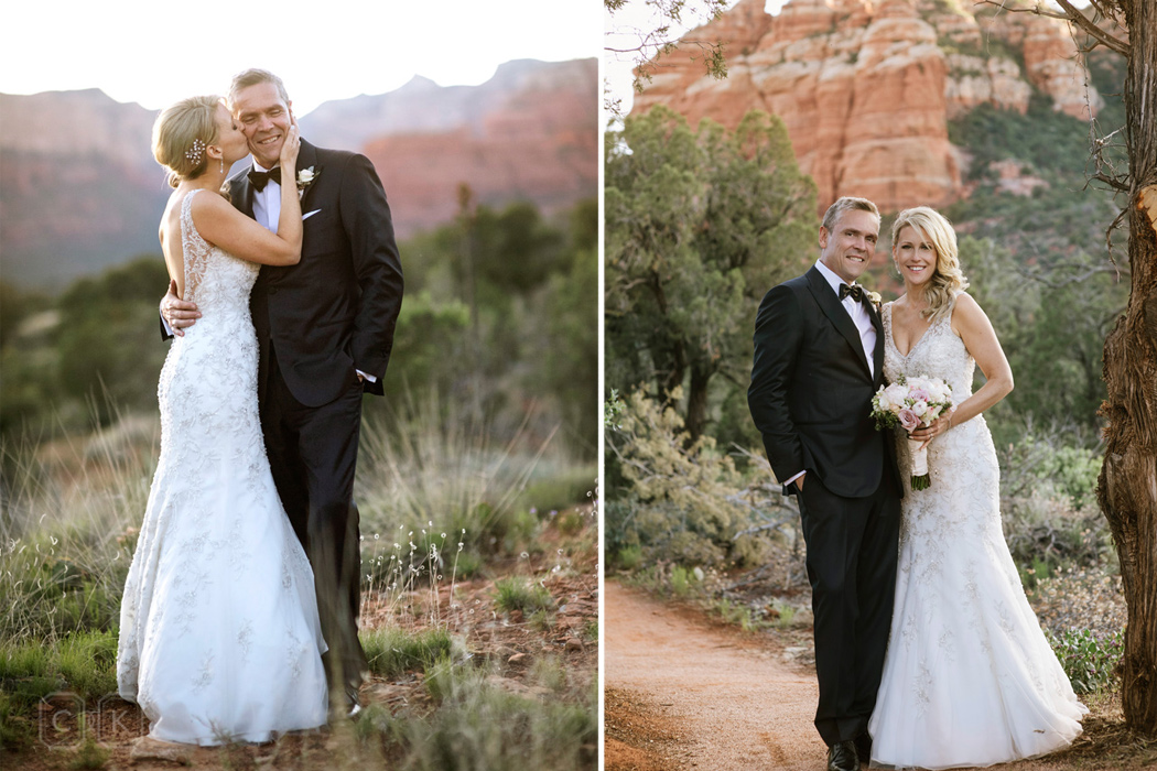 Sedona desert wedding weddingportraits
